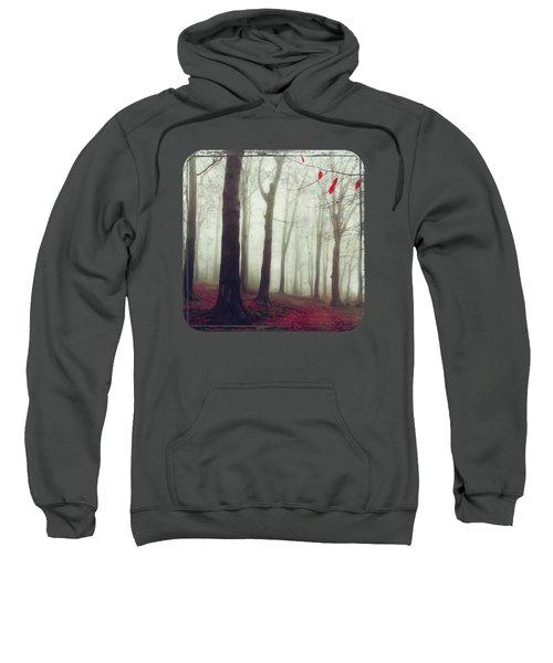 Forest In December Mist Sweatshirt