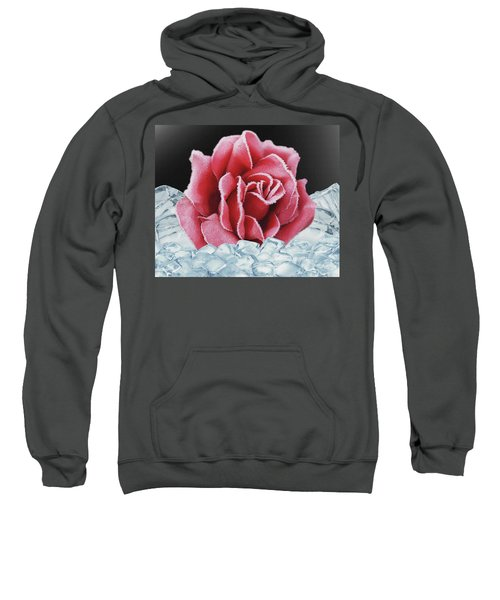 Frozen Rose Sweatshirt