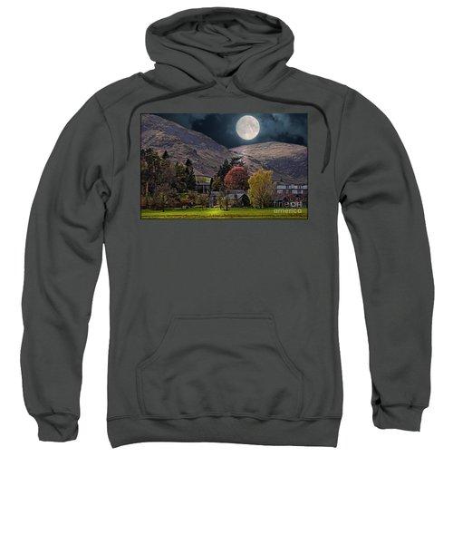 Full Moon Over Glenridding Sweatshirt