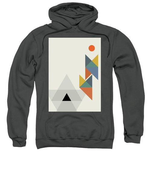 Geometric Painting 14 Sweatshirt