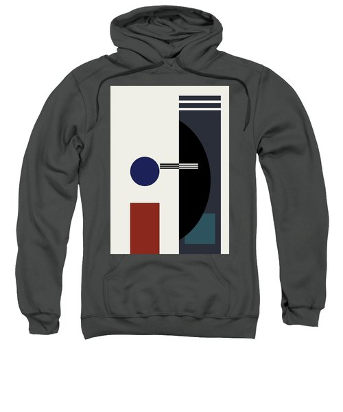 Geometric Painting 9  Sweatshirt