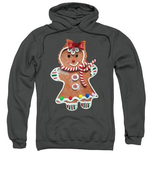 Gingerbread Cookie Girl Sweatshirt