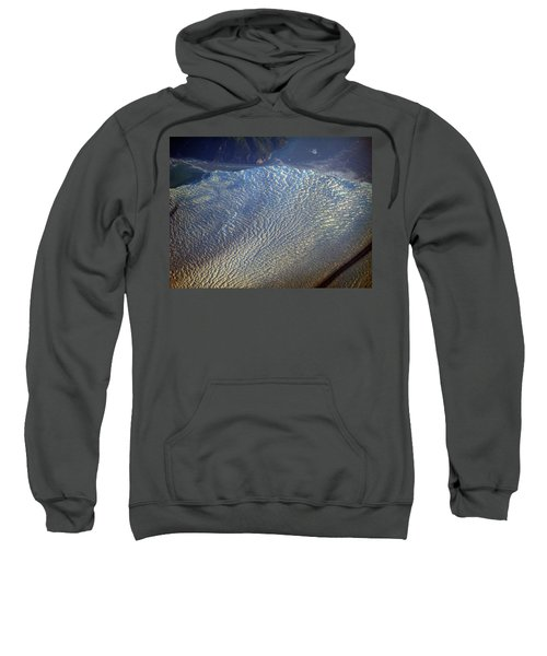 Glacier Texture Sweatshirt