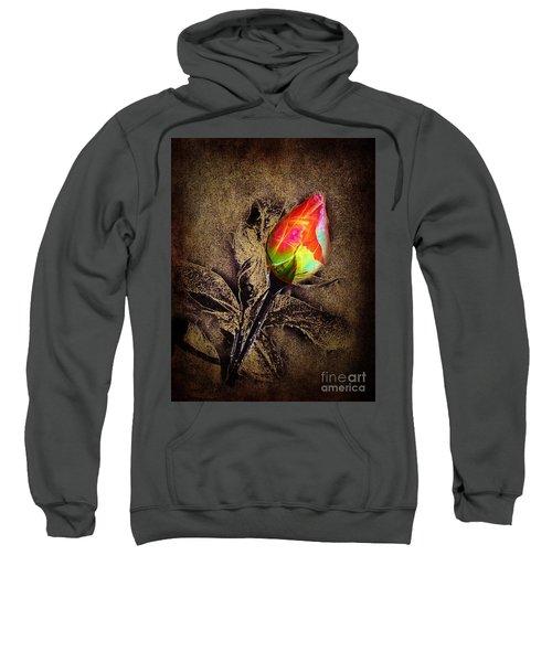 Glowing Rose Sweatshirt
