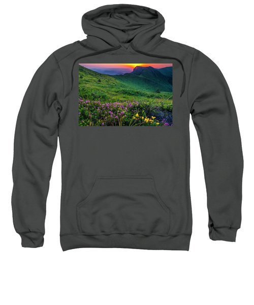 Sweatshirt featuring the photograph Goat Wall by Evgeni Dinev