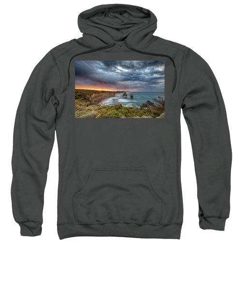 Sweatshirt featuring the photograph Gog And Magog by Chris Cousins