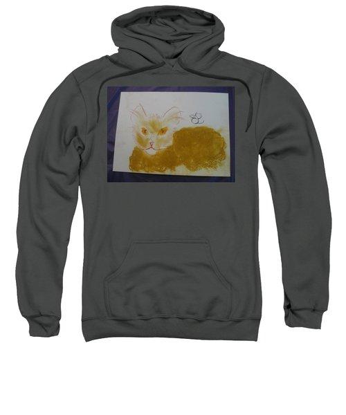 Golden Cat Sweatshirt