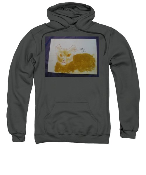 Golden Cat Sweatshirt