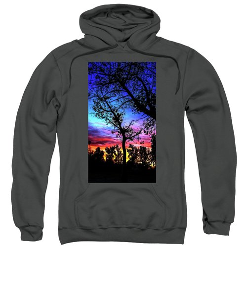 Good Night Leaves In Fall Sweatshirt