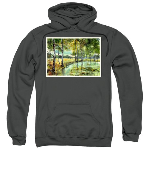 Gorgeous Water Lilies Bloom Sweatshirt