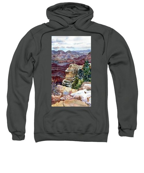 Grand Canyon Winter Day Sweatshirt