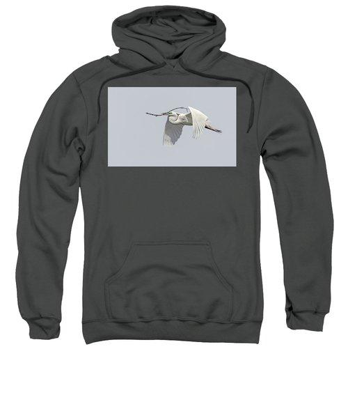 Great Egret 1 Sweatshirt