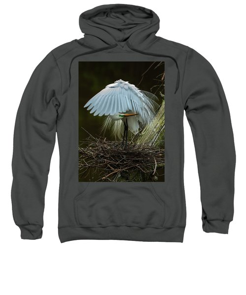 Great Egret Beauty Sweatshirt