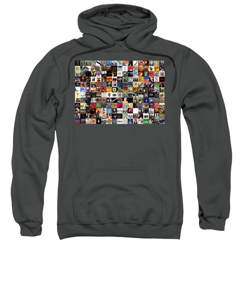 Greatest Rock Albums Of All Time Sweatshirt