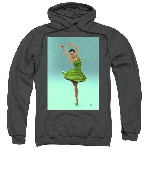Green Dance Sweatshirt