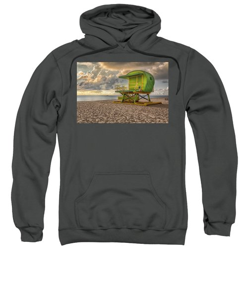Green Lifeguard Stand Sweatshirt