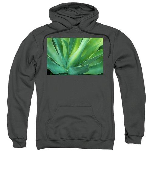 Green Minimalism Sweatshirt