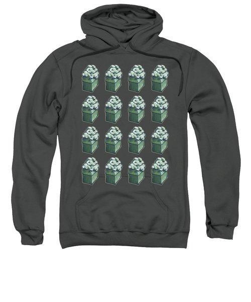 Green Present Pattern Sweatshirt