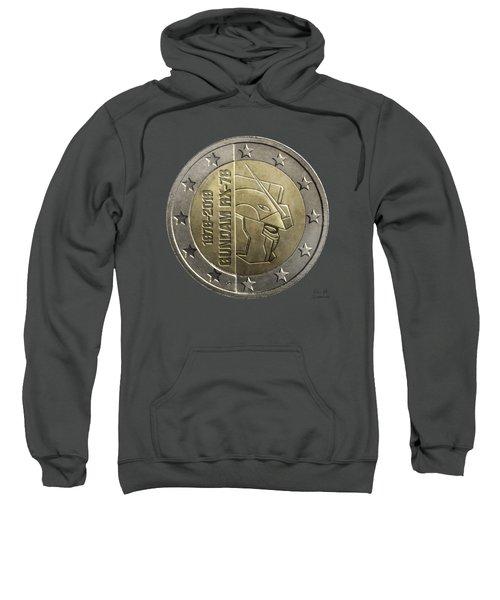 Gundam 40 Coin Dark Gray Sweatshirt