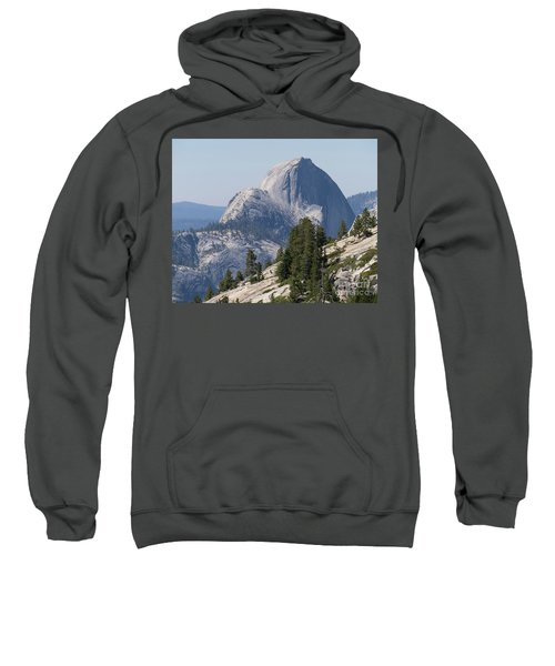 Half Dome And Yosemite Valley From Olmsted Point Tioga Pass Yosemite California Dsc04221-2 Sweatshirt