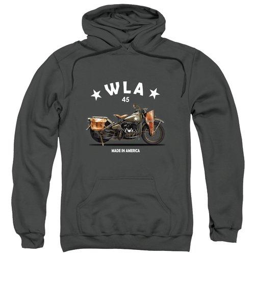 Harley-davidson Wla 1942 Sweatshirt