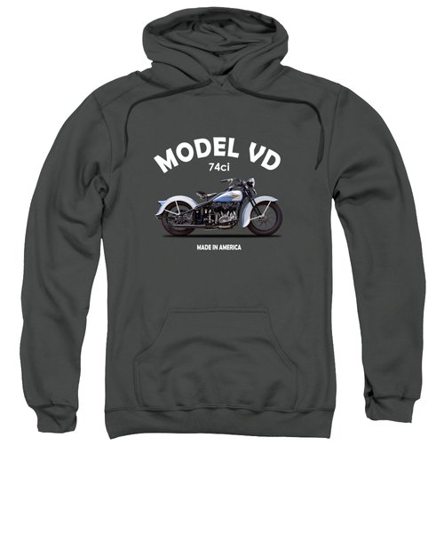Harley Model Vd 1935 Sweatshirt