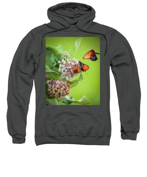 Head Over Heals For Milkweed Sweatshirt