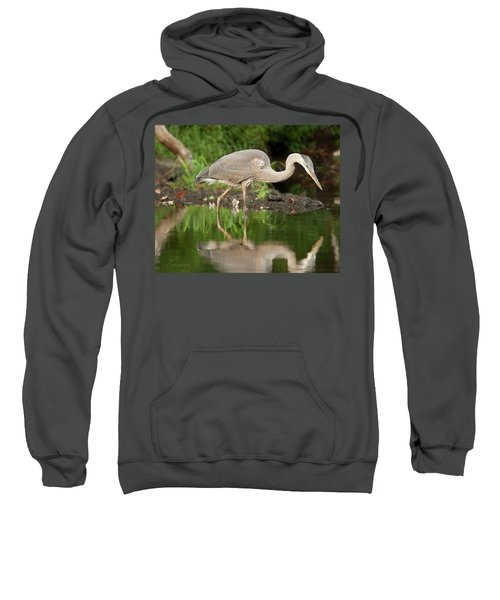 Heron Fishing Sweatshirt
