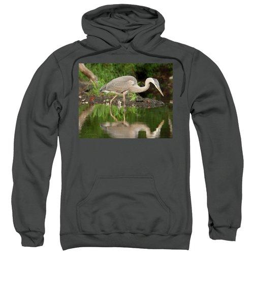 Heron Fishing Sweatshirt