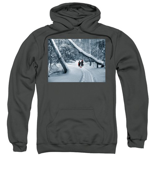 Hiking Into The Gully Sweatshirt