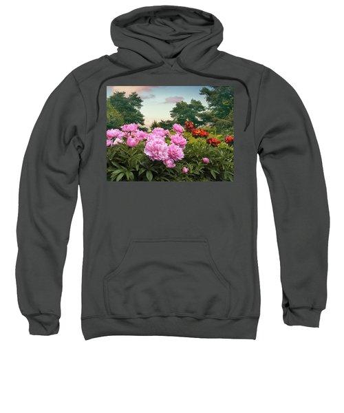 Hillside Peonies Sweatshirt
