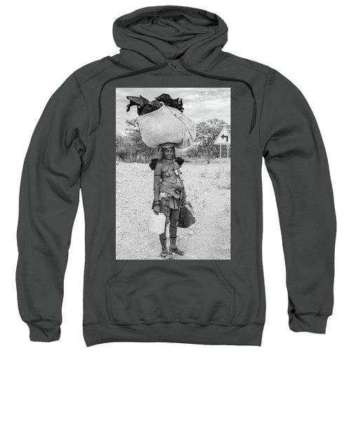 Himba Woman 3 Sweatshirt