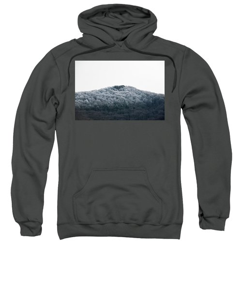 Hoarfrost On The Mountain Sweatshirt