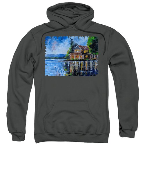 Home By The Lake Sweatshirt