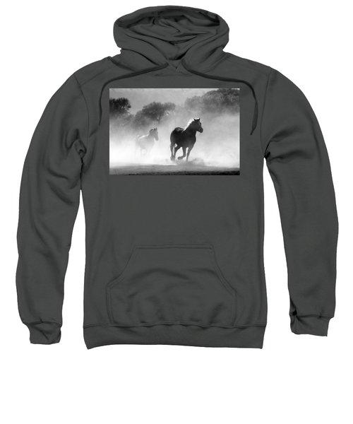 Horses On The Run Sweatshirt