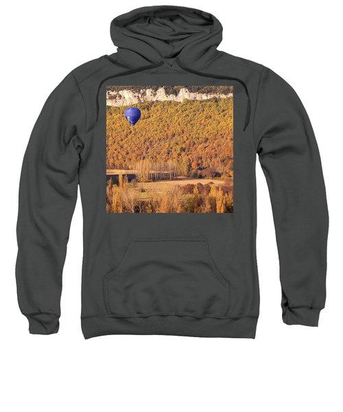 Hot Air Balloon, Beynac, France Sweatshirt
