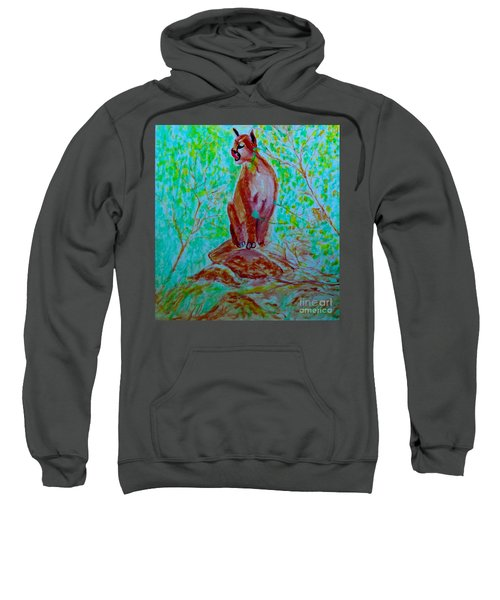 Hungry Mountain Lion Sweatshirt