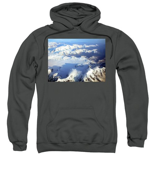 Icebound Mountains Sweatshirt
