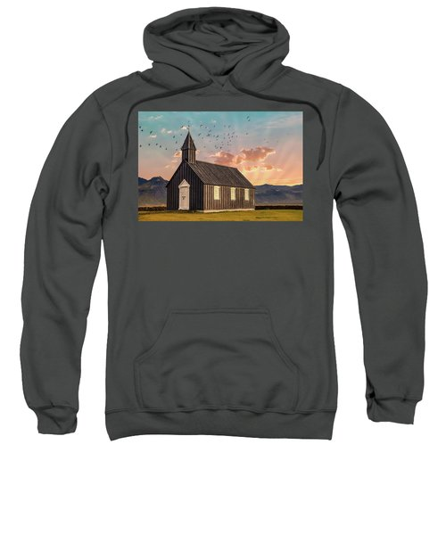 Iceland Chapel Sweatshirt