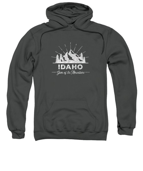 Idaho T Shirt Vintage Hiking Retro Tee Design Sweatshirt