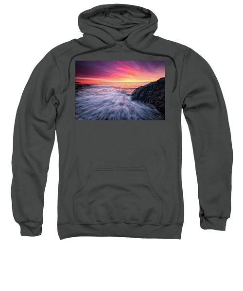 In The Beginning There Was Light Sweatshirt