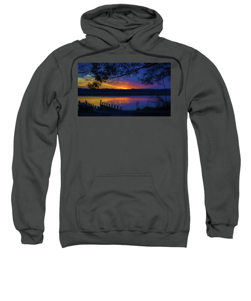 In The Blink Of An Eye Sweatshirt