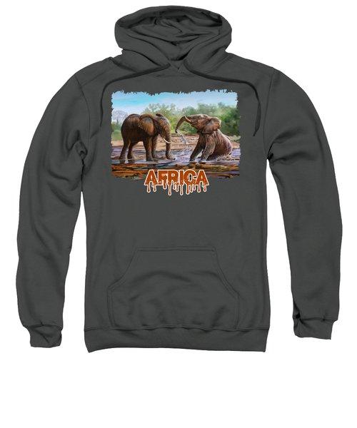 In The Muddy Pool Sweatshirt