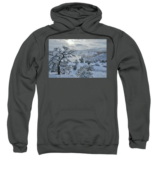 Independence Canyon At Sunrise In Colorado National Monument Sweatshirt