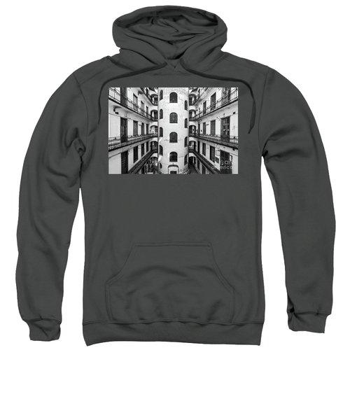 Inner Courtyard In Budapest Sweatshirt