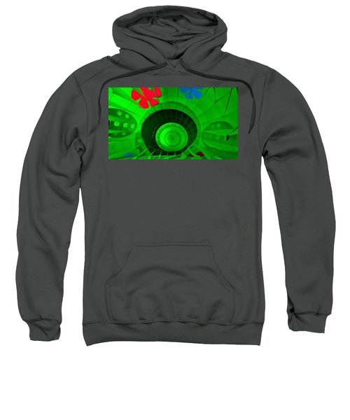Inside The Green Balloon Sweatshirt