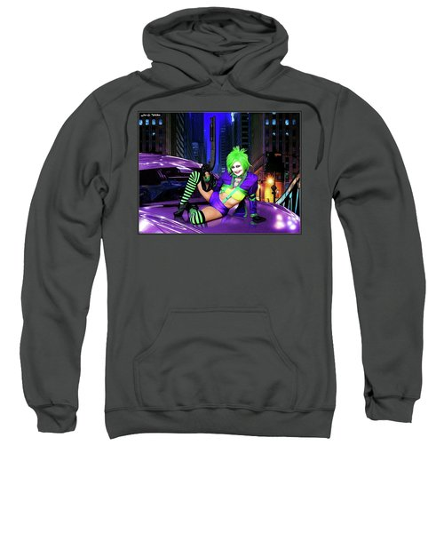 Joker The Color Purple Sweatshirt