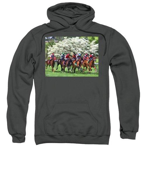 Keeneland Down The Stretch Sweatshirt