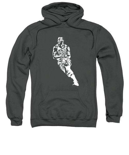 Kemba Walker Charlotte Hornets T Shirt Apparel Pixel Art 2 Sweatshirt