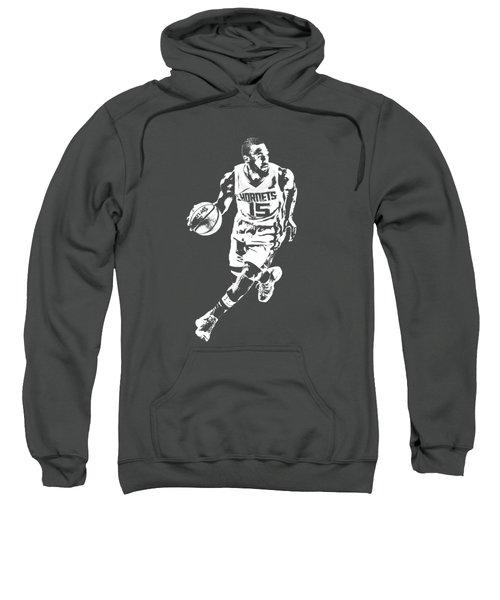 Kemba Walker Charlotte Hornets T Shirt Apparel Pixel Art 4 Sweatshirt